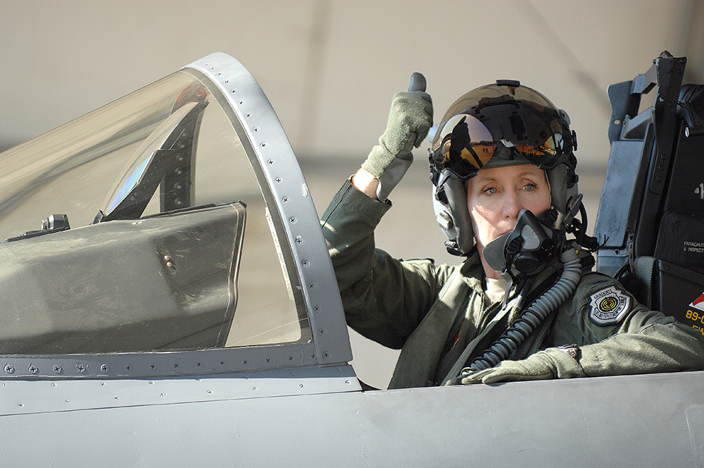 jeannie leavitt air force photo
