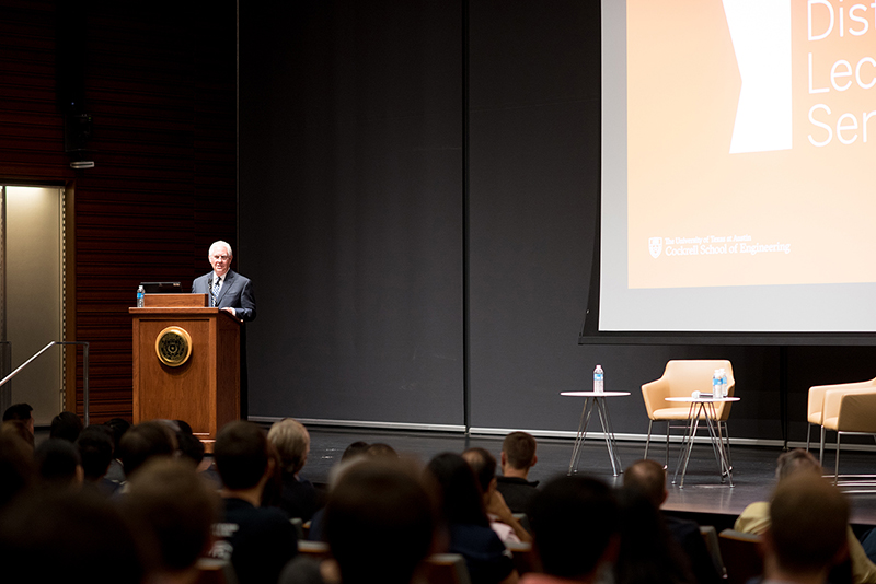 tillerson distinguished lecture series
