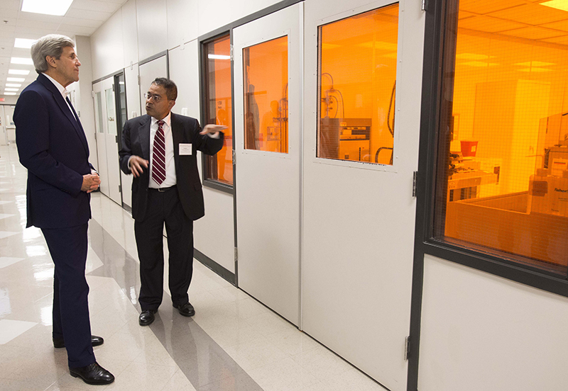 John Kerry Visit