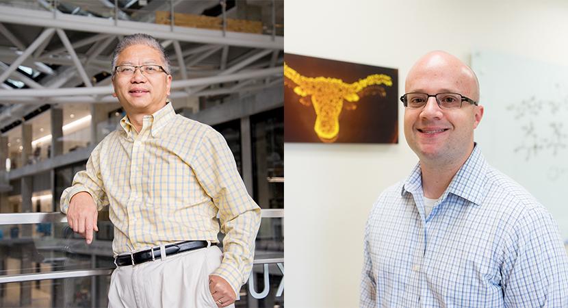 Portraits of Alex Huang and Hal Alper
