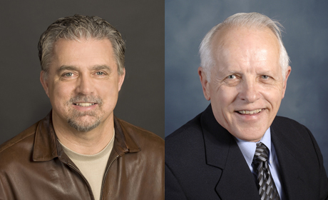 Dr. Bob Bishop and Dr. Wallace Fowler