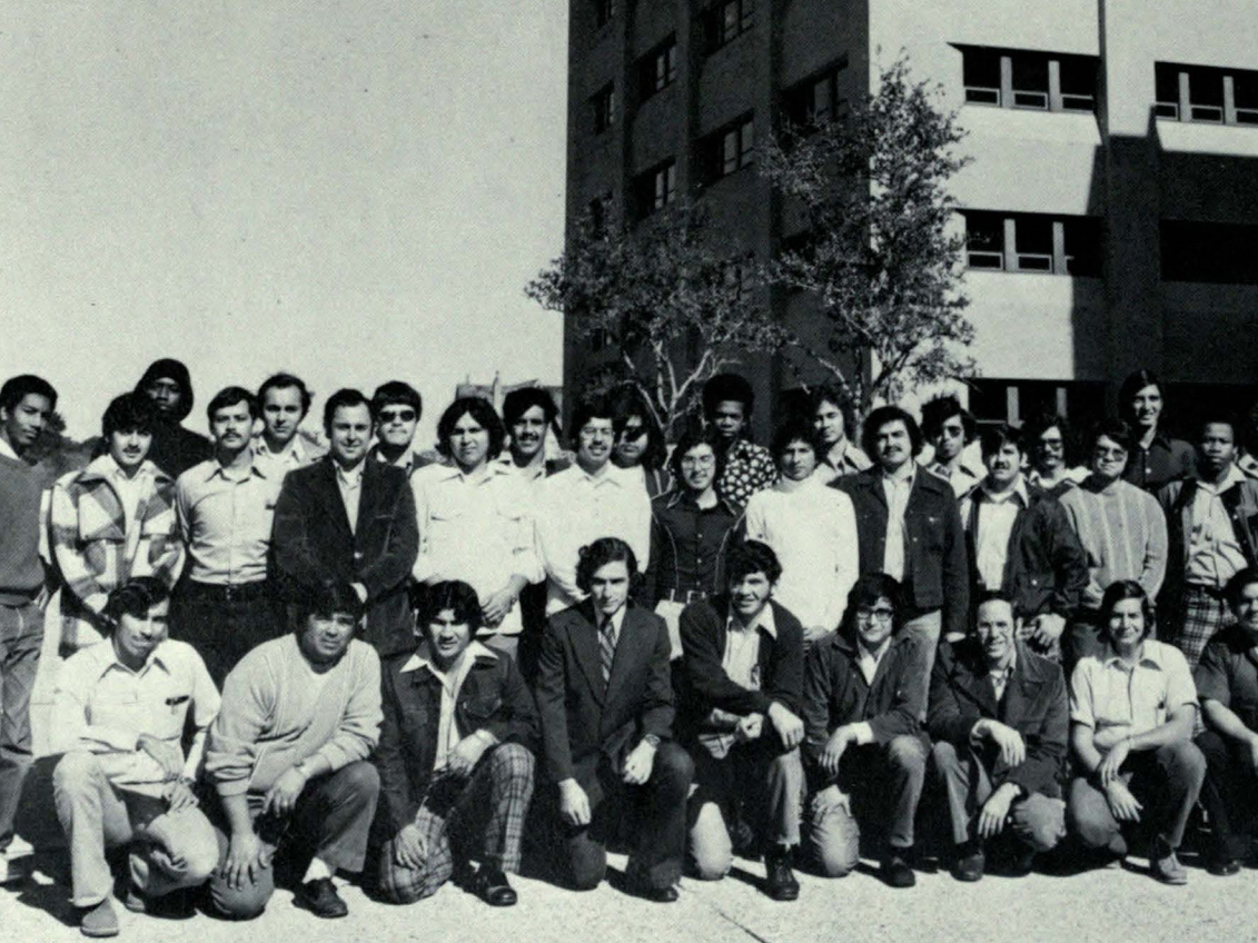 group of equal opportunity in engineering students from 1975