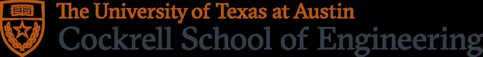 cockrell school formal logo