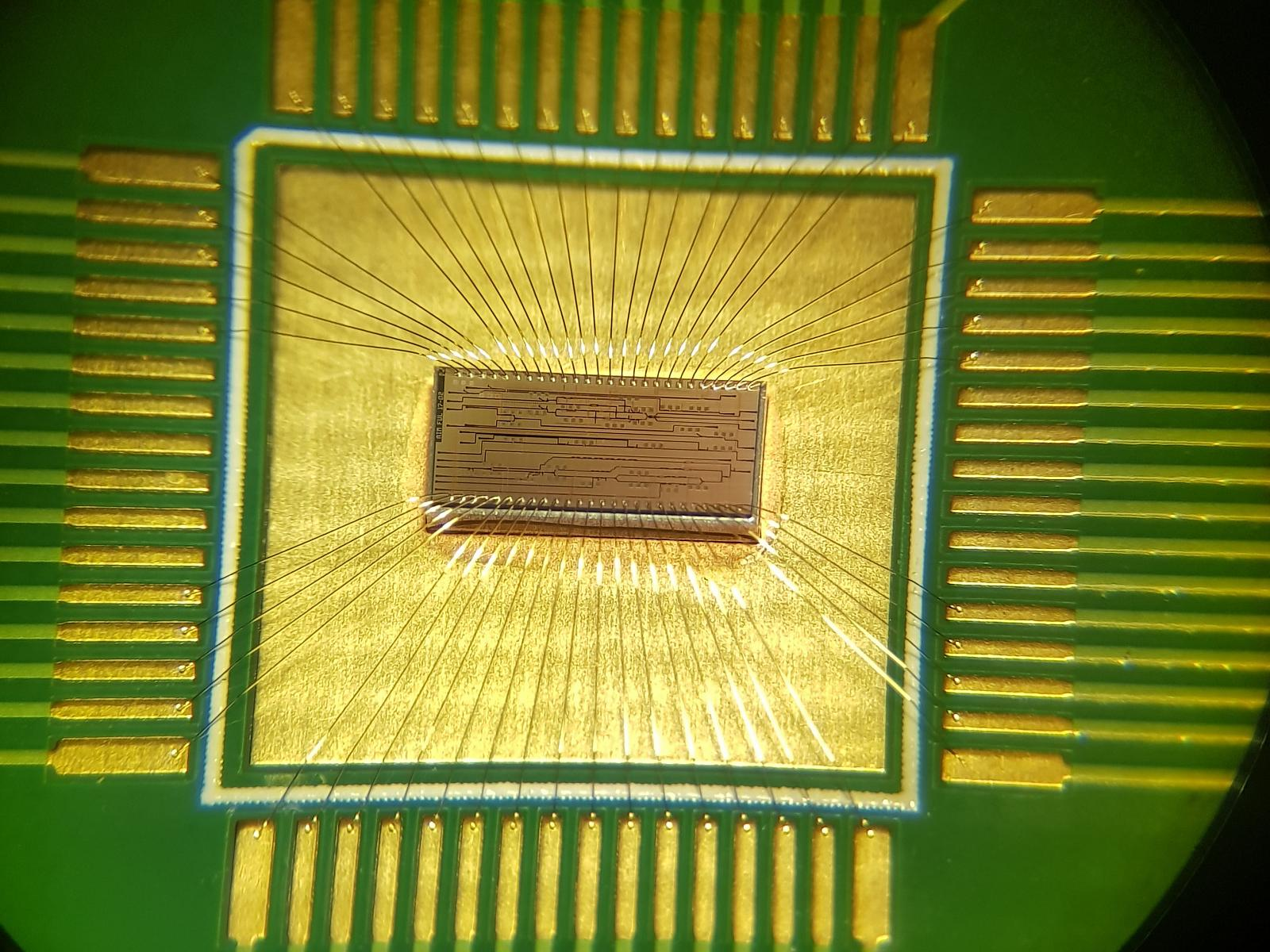 silicon chip arithmetic logic unit